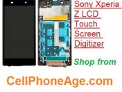 Sony Xperia Z LCD touch screen digitizer