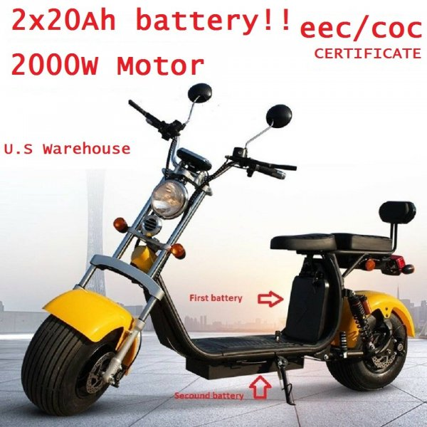 Brand New Harley Citycoco 2000w Electric